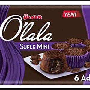 Ulker Olala Suffle Cake 6 pcs Halal Souffle Cake Snacks