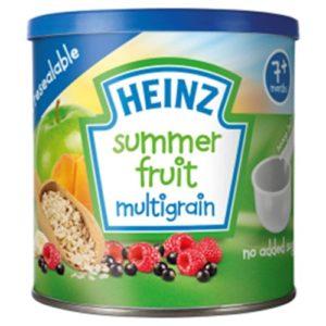 Heinz 7+ Months Summer Fruit Multigrain 240g