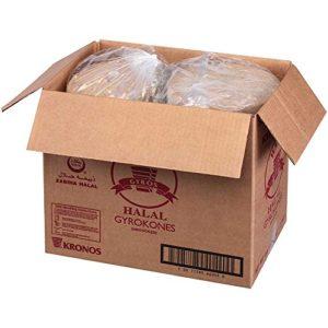 Kronos Frozen Gryokone Halal Brand Beef Cone, 20 Pound -- 2 per case.
