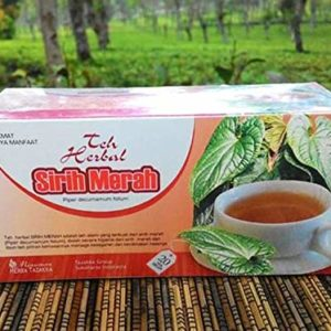 2 x 20 TeaBags Piper Ornatum Red Betel Leaf Celebes Pure Herbal Halal Tea