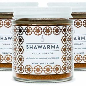 Villa Jerada, Shawarma, Aromatic Levantine Spice Blend, 1.76 oz (Pack of 3)