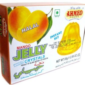 Ahmed Instant Set MANGO Jelly Crystals (Halal) - 2.99oz