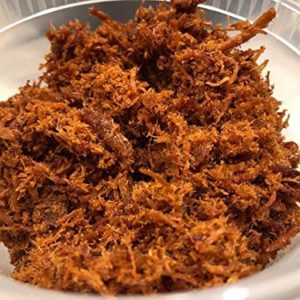 Abon Ayam Pedas/Chicken Floss Spicy (Halal) 100g (Pack of 2)