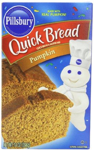 Pillsbury Pumpkin Quick Bread and Muffin Mix, 14 oz