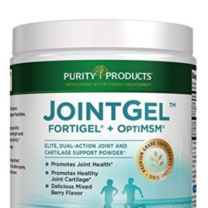JointGel Formula - Dual Action, Berry Flavored Powder - Combination of Bioactive Collagen Peptides and MSM - from Purity Products