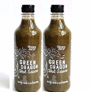Trader Joes Green Dragon Hot Sauce - Pack of 2