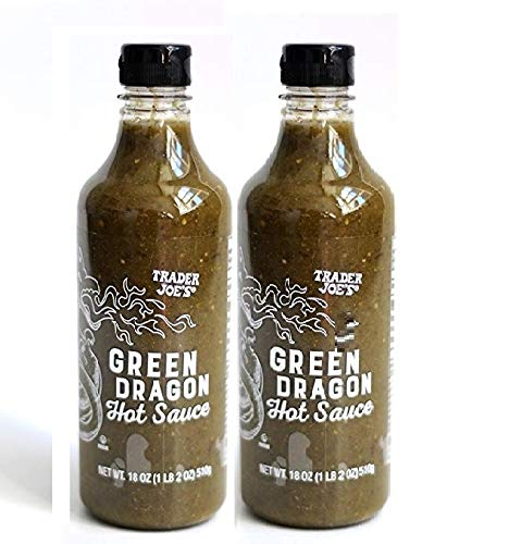 Trader Joes Green Dragon Hot Sauce - Pack of 2