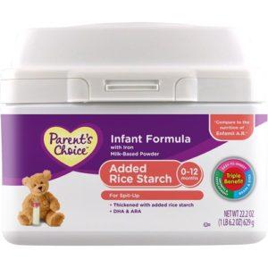 Parent's Choice Added Rice Starch Powder Formula