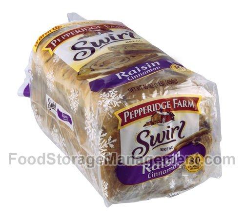 Pepperidge Farm Raisin Cinnamon Swirl Bread Pack of 2
