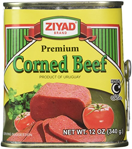 Ziyad Halal Meat, Corned Beef, 12 Ounce