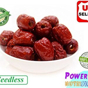 1LB (Seedless) ALL NATURAL GROWN ORGANICLLY Dried JUJUBE DATES,Dates,CHINESE DATES,US SELLER,Fresh and best quality guarantee,UNBEATABLE QUALITY AT THIS PRICE!! HAND SELECTED