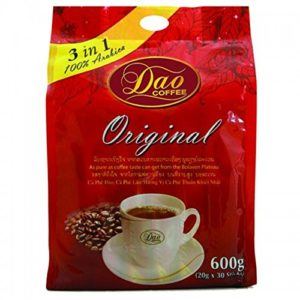 Instant Coffee 3in1 Original 100% Arabica Halal 0.70 oz X 30 Sachet.