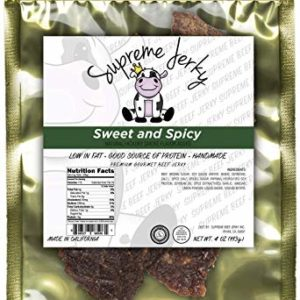 Halal Beef jerky, Supreme Beef Jerky, Sweet and Spicy
