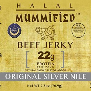 Halal Beef Jerky - Original Silver Nile 2.5 oz (Pack of 2)