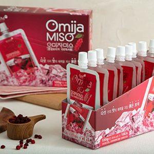 Korean Premium Omija Juice Extract from MunGyeong Halal food ISO22000 HACCP 35 oz K-food Mukbang [오미자 주스]