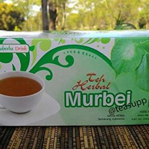2 x 20 TeaBags Morus Alba L MULBERRY Pure Herbal Halal Tea