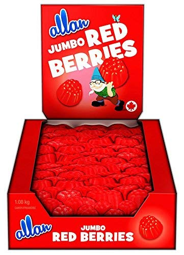 Allan Jumbo Red Berries 200pcs