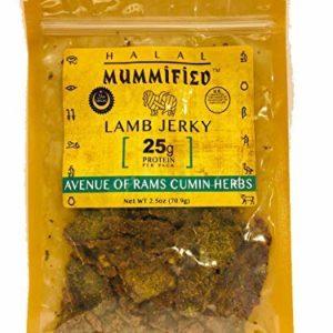 Halal Lamb Jerky - Avenue of Rams Cumin Herbs