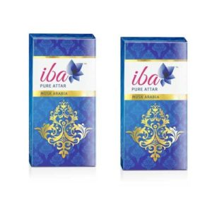 2 x Iba Halal Care Pure Attar Musk Arabia, 8ml
