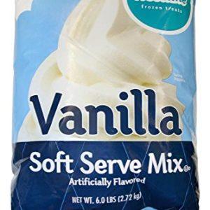 Frostline Vanilla Soft Serve Ice Cream Mix, 6 Pounds
