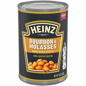 Heinz Kentucky Style Bourbon & Molasses BBQ Baked Beans, 16 oz Can