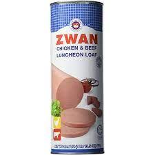 Zwan Chicken Luncheon Meat, Halal 29.5 OZ, (Pack 1)