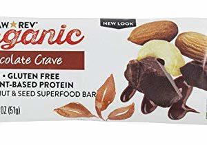 RAW REV Organic Chocolate Crave Live Food Bar, 1.8 OZ
