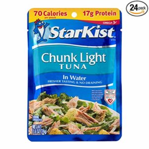 StarKist Chunk Light Tuna in Water, 2.6-Ounce Pouches