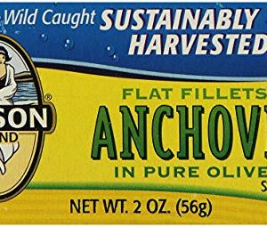 Season Fillets of Mackerel in Olive Oil, 4.375-Ounce Tins