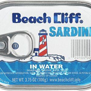 Beach Cliff, Sardines in Mustard Sauce
