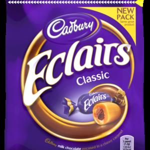 Cadbury Chocolate Eclairs 166 gram - Pack of 2 by Cadbury