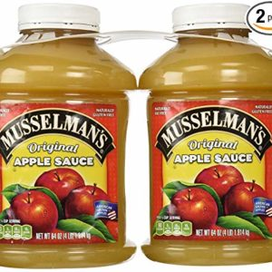musselman's Natural Unsweetened Apple Sauce, 46 oz