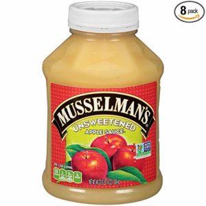musselman's Natural Unsweetened Apple Sauce, 46 oz