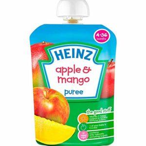 Heinz 4-36 Months Apple & Mango Puree 100g
