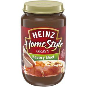 Heinz Savory Beef Gravy (12 oz Jars, Pack of 12)