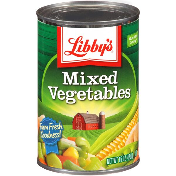 Libby's Mixed Vegetables, 8.5 Ounce (Pack of 12)
