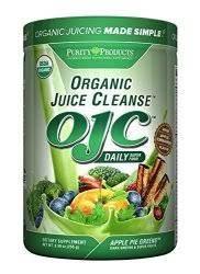 OJC - Matcha Peach Greens - Certified Organic Juice Cleanse, 10.75 oz