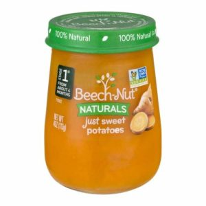 Beech-Nut Just Naturals Stage 1 Purees-Butternut Squash-4.25 Oz-10 Pack