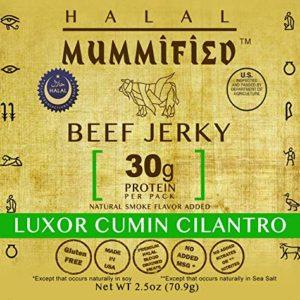 Halal Beef Jerky - Luxor Cumin Cilantro (Pack of 2)