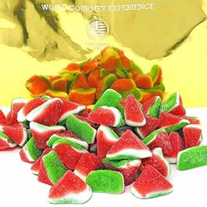 SweetGourmet Watermelon Slices Gummy Candy | Halal | 3 pounds