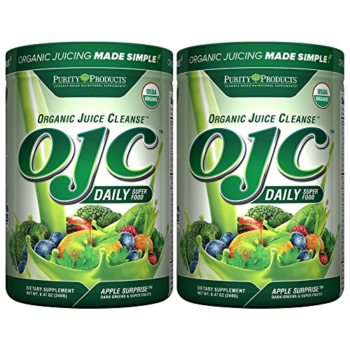 Certified Organic Juice Cleanse (OJC®) 8.46oz - Apple Surprise - 30 Day Supply from Purity Products (2)