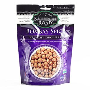 Saffron Road Bombay Spice Chickpeas 6 oz each (1 Item Per Order, not per case)