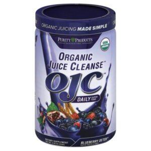 Certified Organic Juice Cleanse (OJC) - Blueberry Detox - Net Wt. 8.82 oz