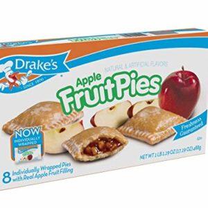 Drake's Fruit Pies (Apple) 17. 19 oz, 8 Ct
