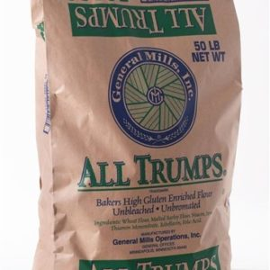 General Mills All Trumps High Gluten Flour - Unbleached Unbromated - 7 lbs REPACK