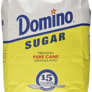Domino Sugar, Granulated, 10-Pound Bags