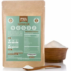 Made in USA Xanthan Gum (8 oz), Premium Quality, Food Grade Thickener, Non GMO, Gluten Free, Use in Cooking, Baking, Sauces, Soups and more. Suitable...