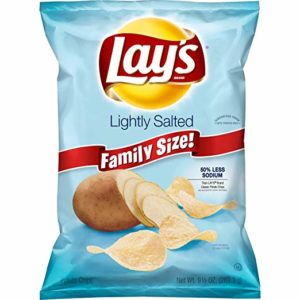 Lay's Lightly Salted Potato Chips, 9.5 Ounce