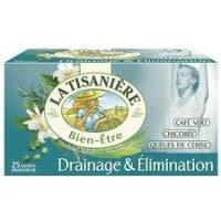 La Tisaniere Infusion Drainage et Elimination 25 Sachets 37.5g