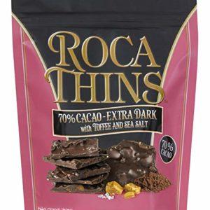 Roca Thins - Extra Dark Chocolate, 5.3 oz